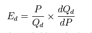 Difference between Point and Arc Elasticity of Demand