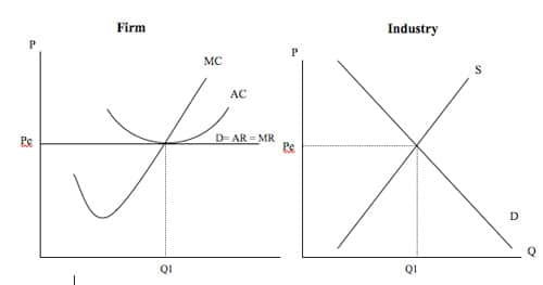 perfect competition in economic theory Wage determination under perfect competition in the labour market the analysis of wage determination under conditions of perfect competition is exactly the same as given there in the case of wage determination, it should be remembered that average factor cost (afc) becomes average wage (aw) and .