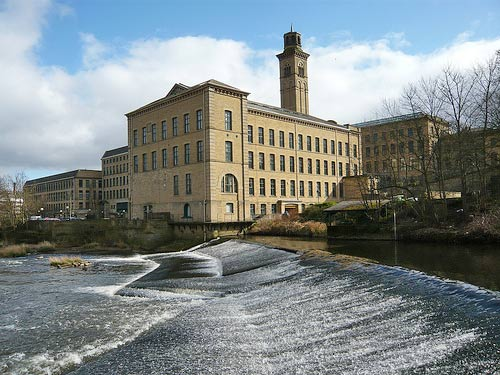 saltaire-mill-factory-river