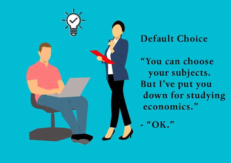 default-choice