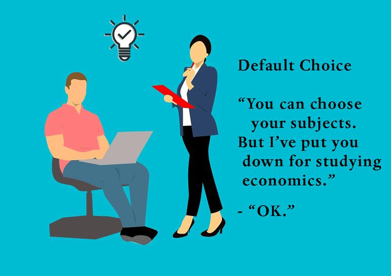default-choice