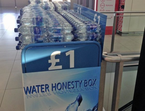 Is it rational to put money in an honesty box?