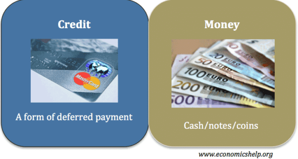 difference-money-credit